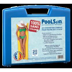 PoolSan kit piscine 5-20 m3 en mallette